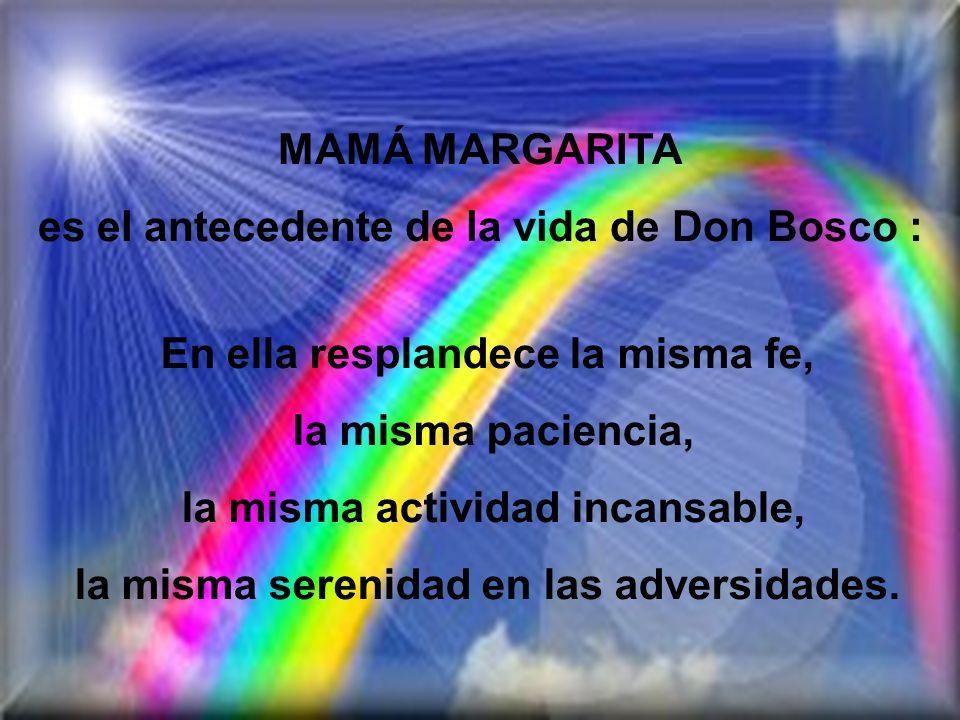 es el antecedente de la vida de Don Bosco :