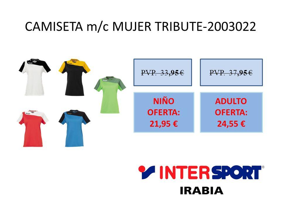 CAMISETA m/c MUJER TRIBUTE-2003022