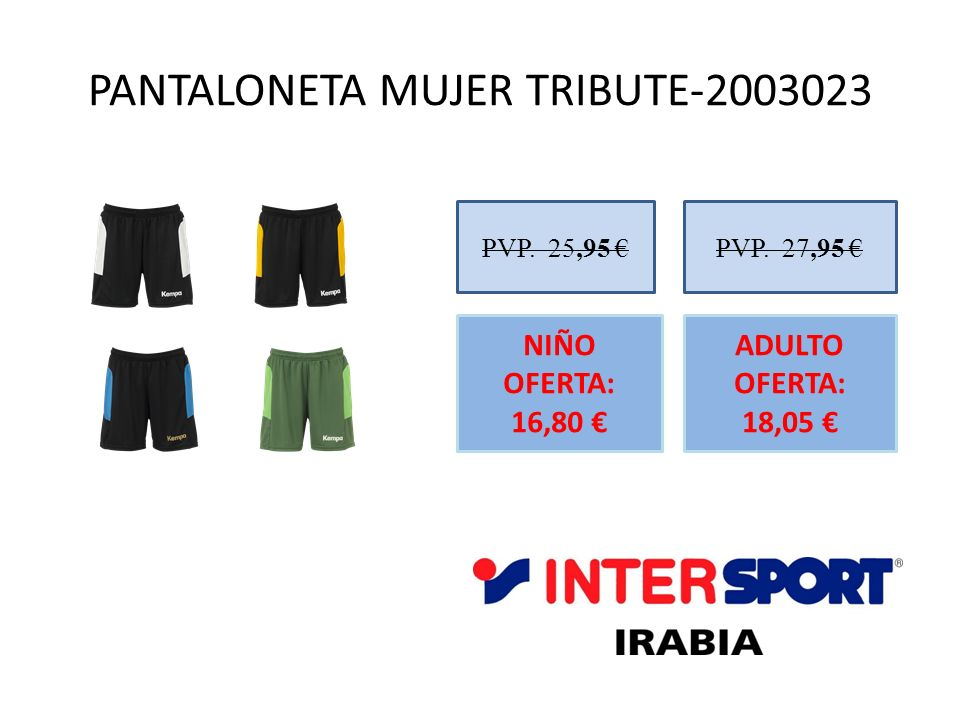 PANTALONETA MUJER TRIBUTE-2003023