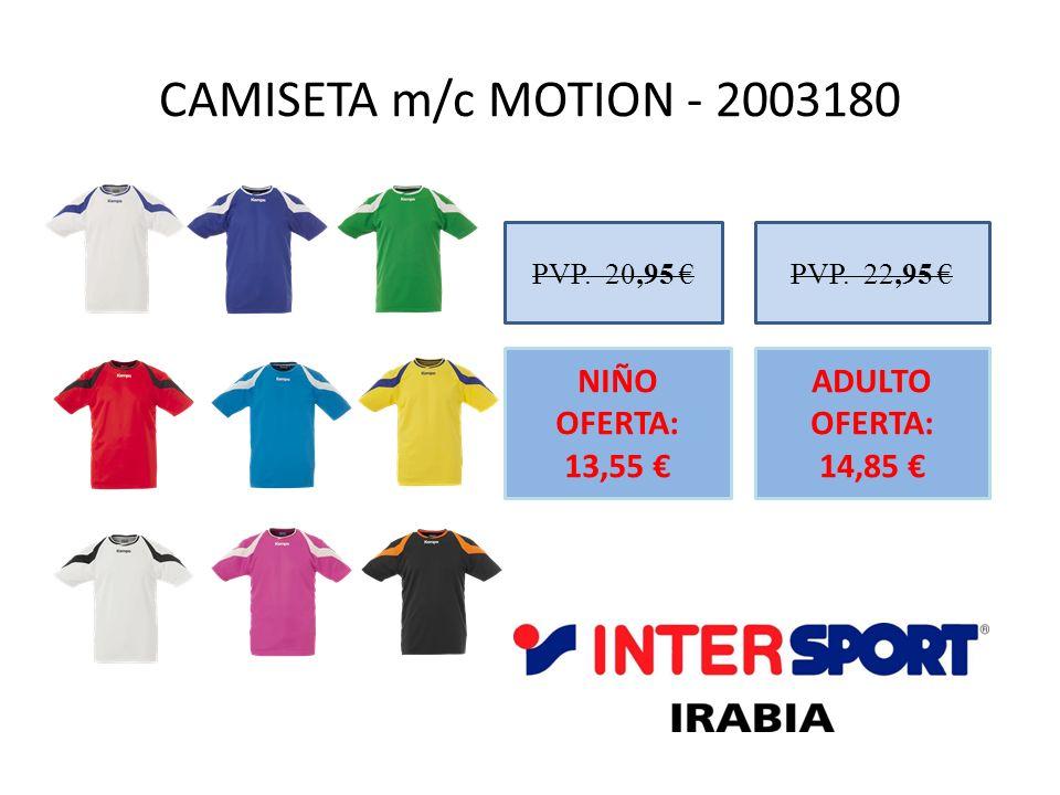 CAMISETA m/c MOTION - 2003180 NIÑO OFERTA: 13,55 €