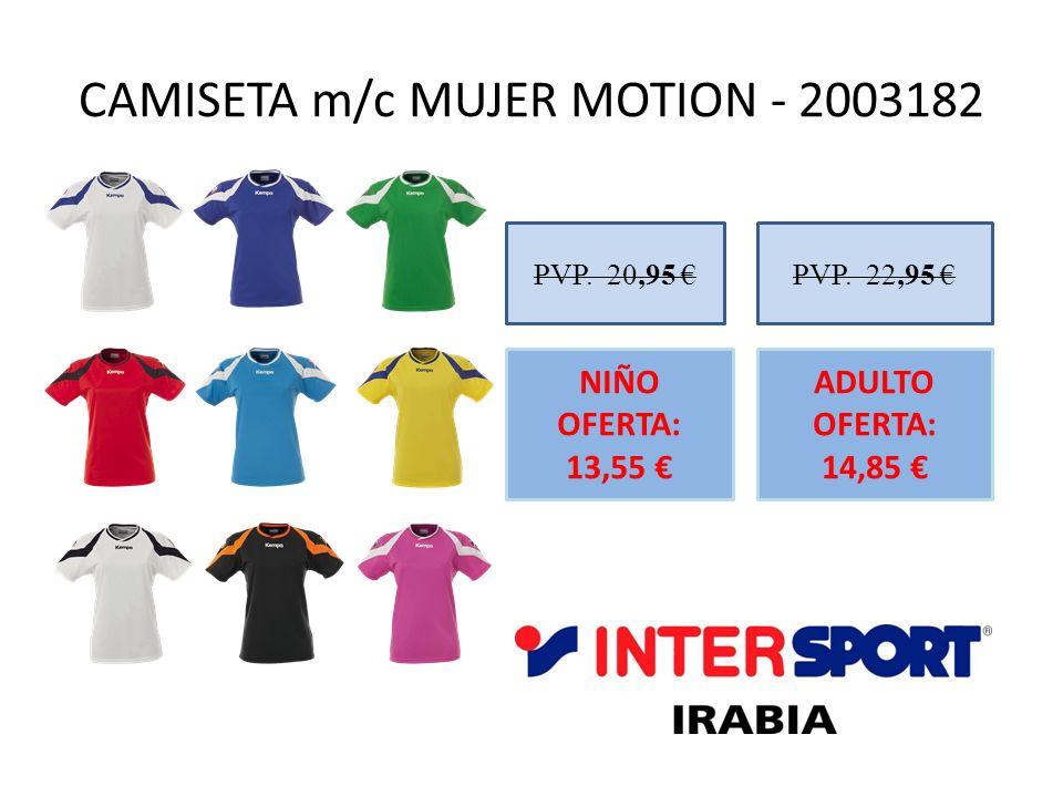 CAMISETA m/c MUJER MOTION - 2003182