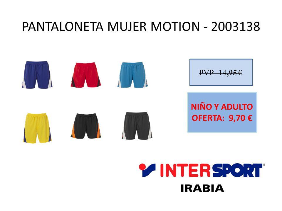 PANTALONETA MUJER MOTION - 2003138