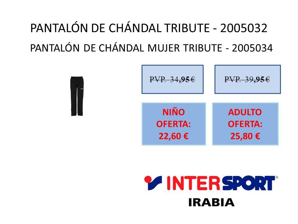 PANTALÓN DE CHÁNDAL TRIBUTE - 2005032