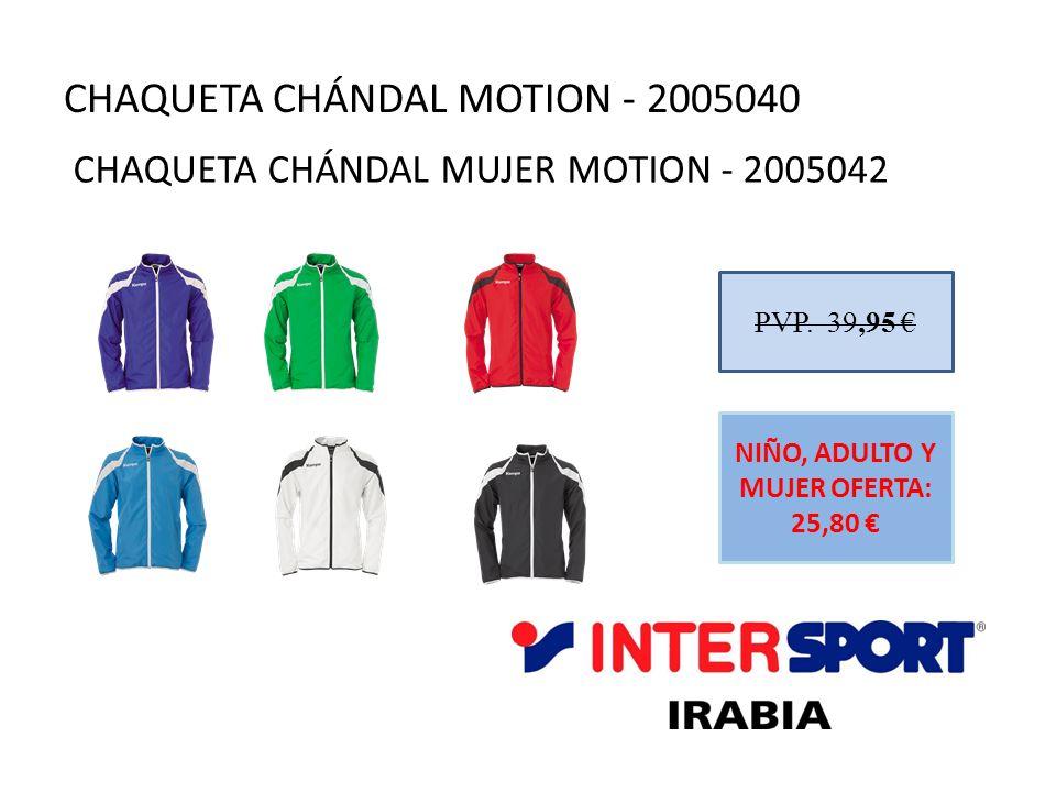 CHAQUETA CHÁNDAL MOTION - 2005040