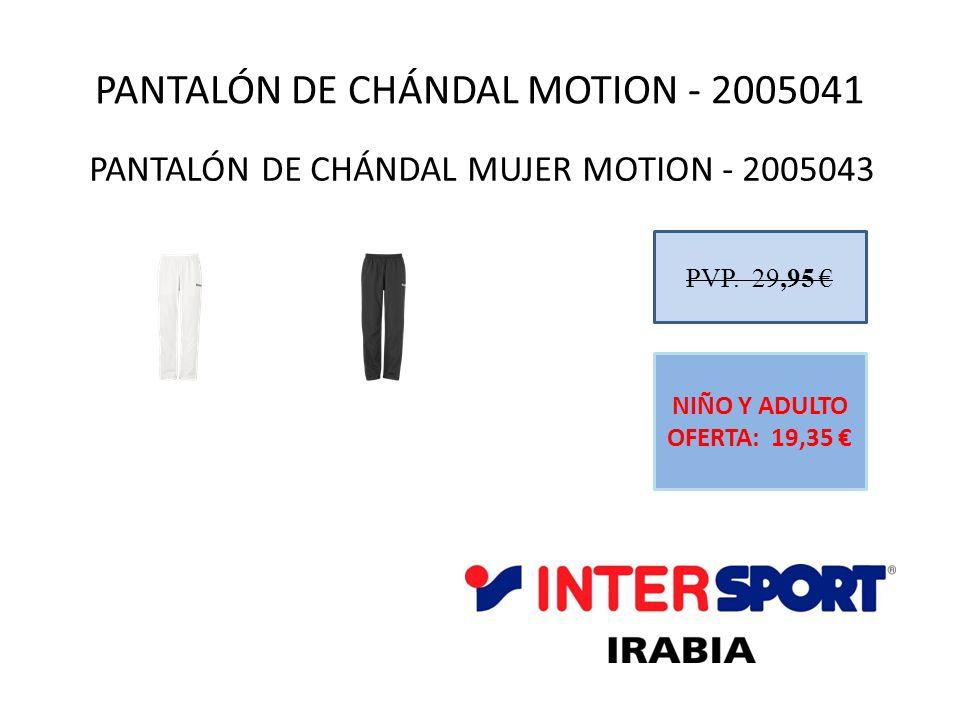 PANTALÓN DE CHÁNDAL MOTION - 2005041