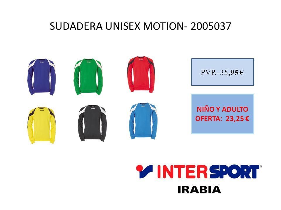 SUDADERA UNISEX MOTION- 2005037