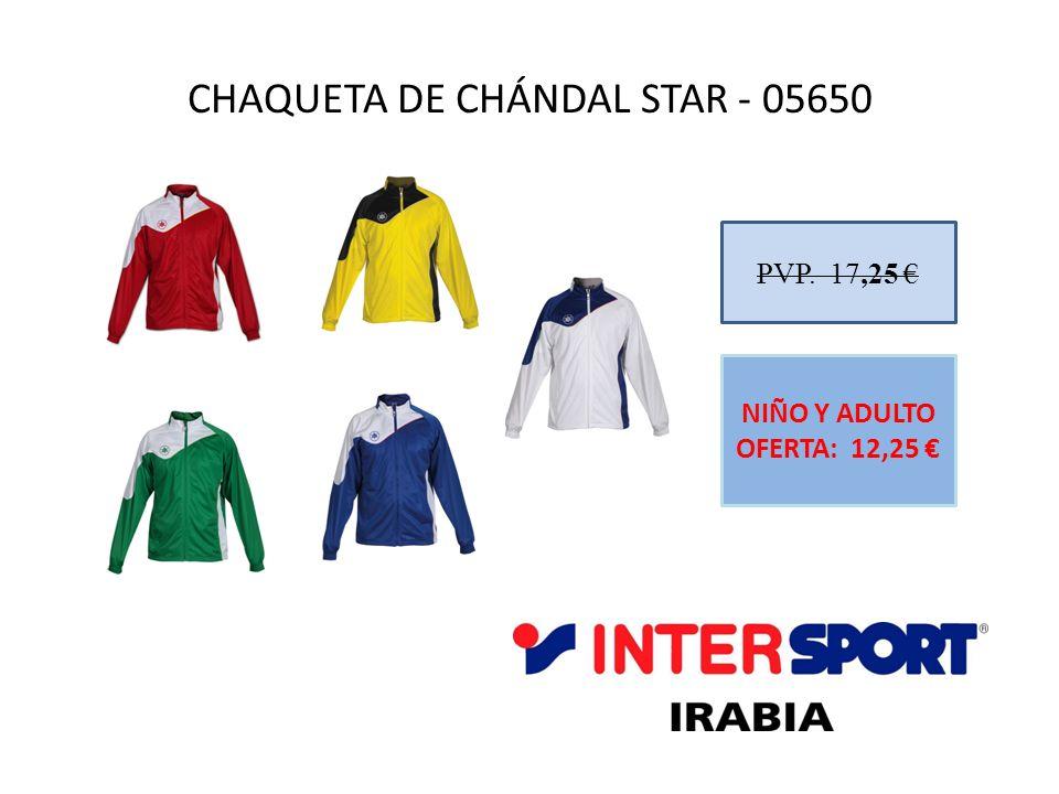 CHAQUETA DE CHÁNDAL STAR - 05650