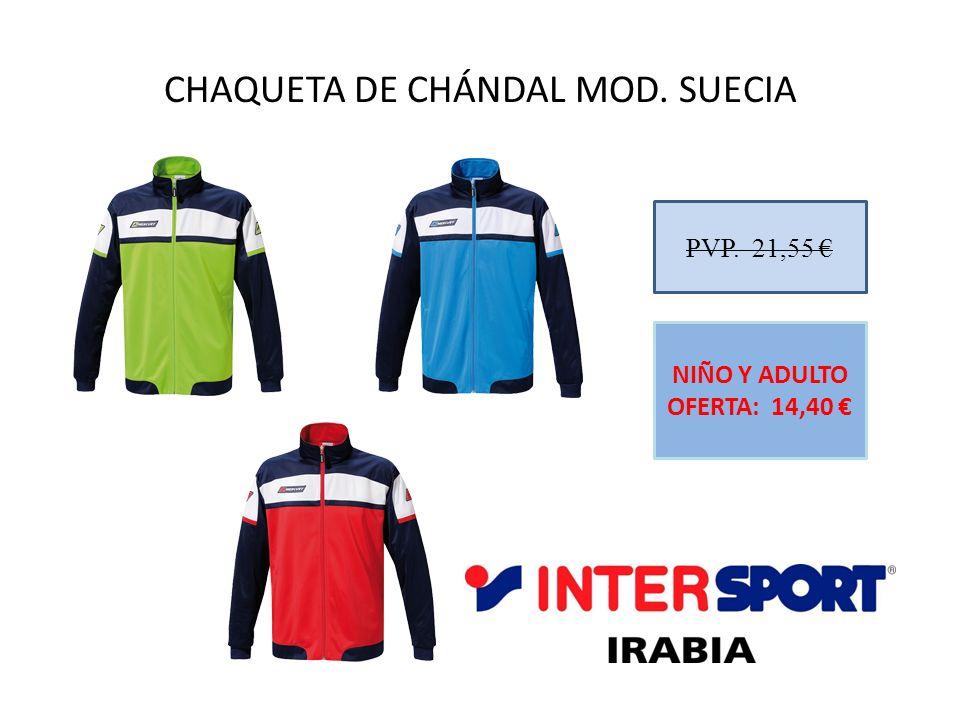 CHAQUETA DE CHÁNDAL MOD. SUECIA