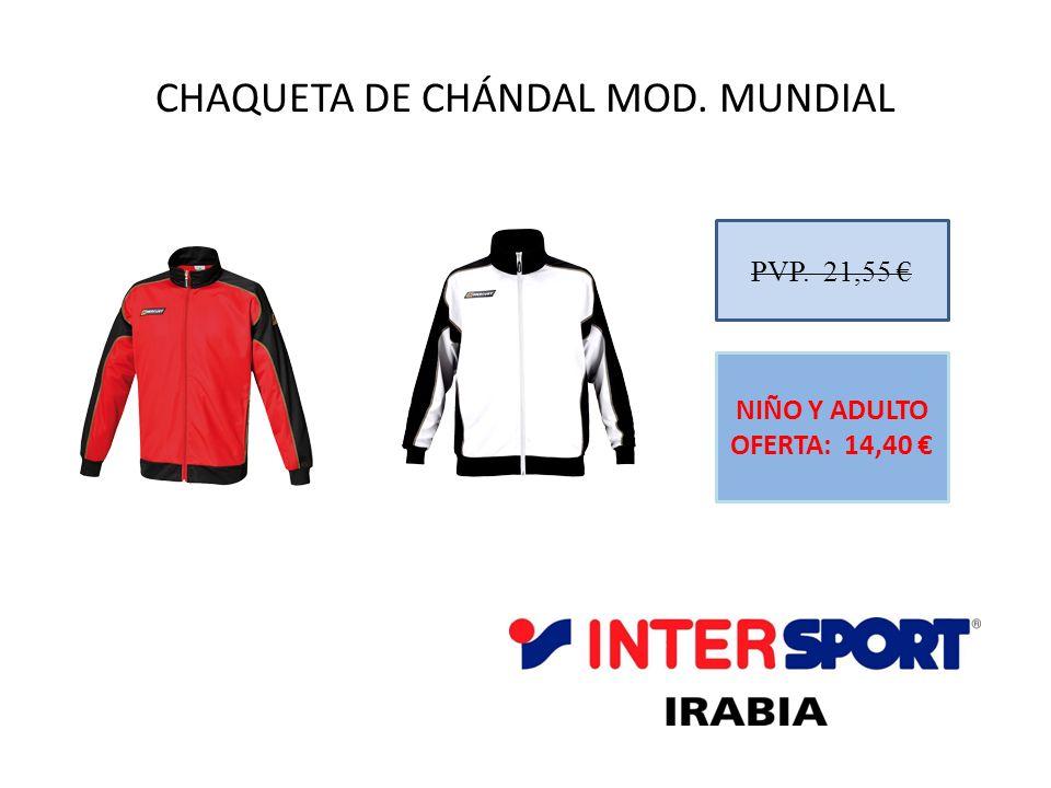 CHAQUETA DE CHÁNDAL MOD. MUNDIAL