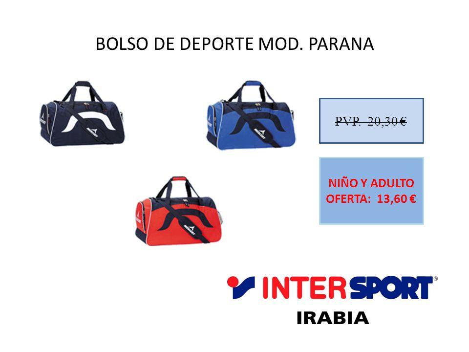 BOLSO DE DEPORTE MOD. PARANA