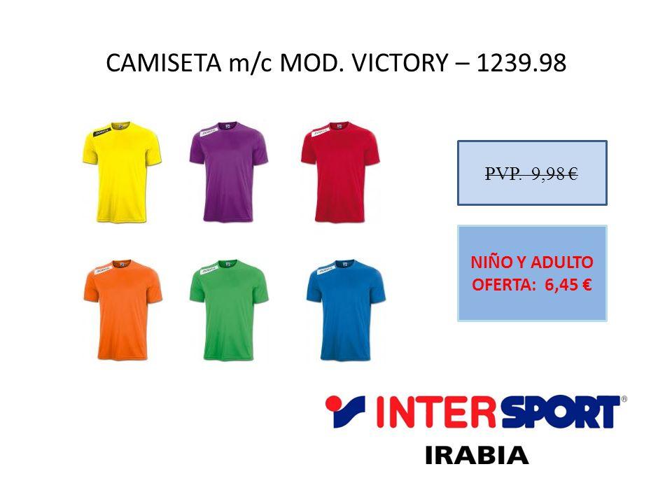 CAMISETA m/c MOD. VICTORY – 1239.98