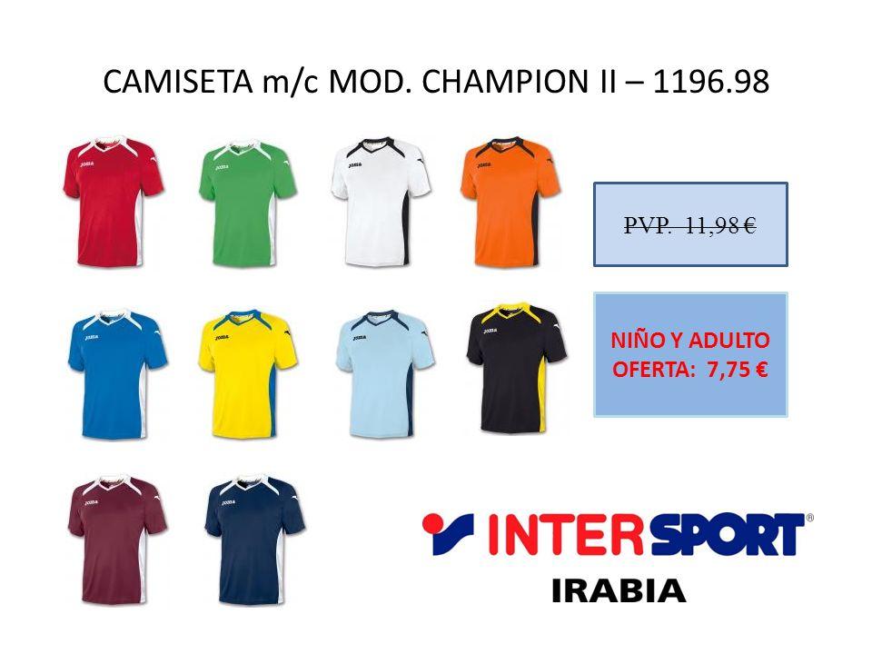 CAMISETA m/c MOD. CHAMPION II – 1196.98