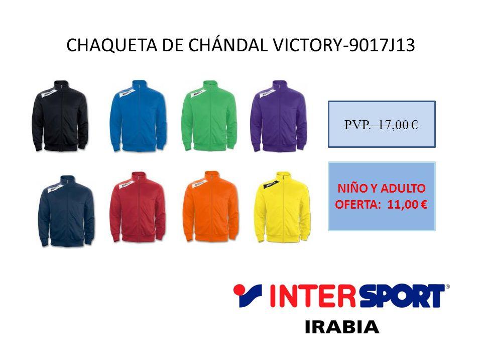 CHAQUETA DE CHÁNDAL VICTORY-9017J13