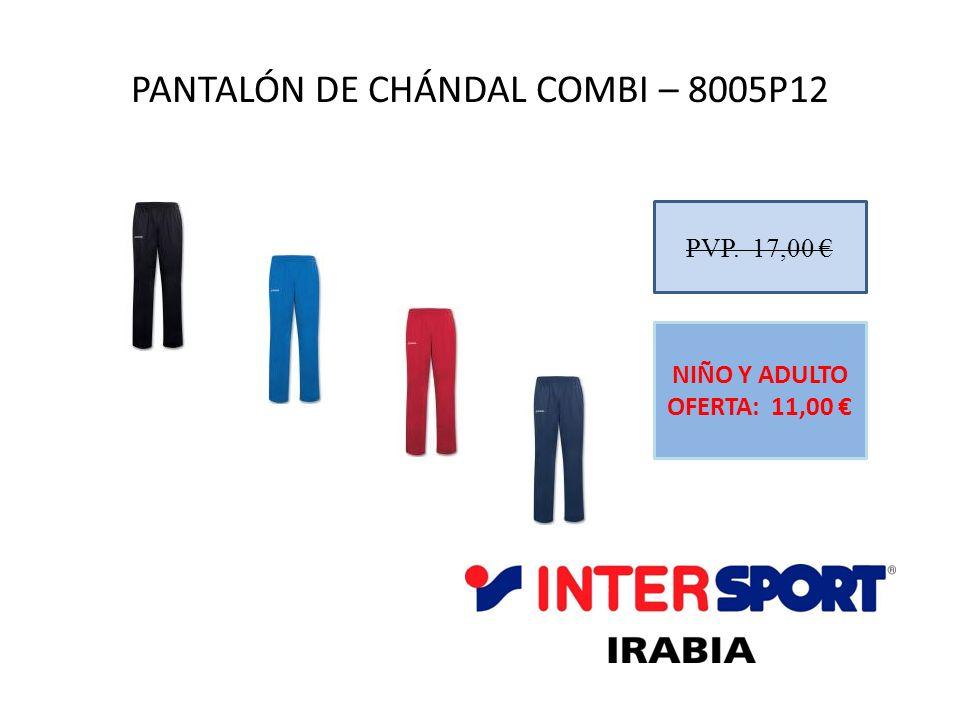 PANTALÓN DE CHÁNDAL COMBI – 8005P12