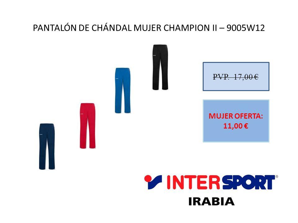 PANTALÓN DE CHÁNDAL MUJER CHAMPION II – 9005W12