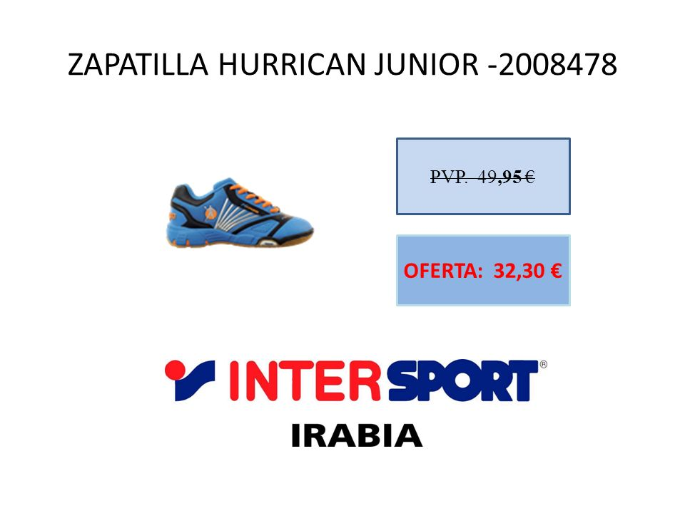 ZAPATILLA HURRICAN JUNIOR -2008478