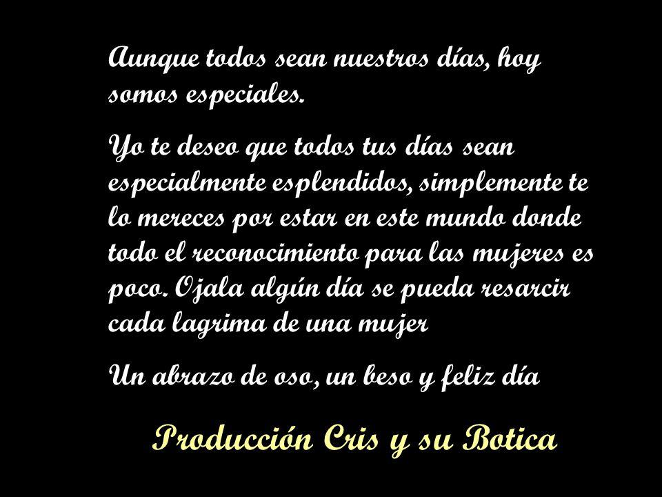 Producción Cris y su Botica