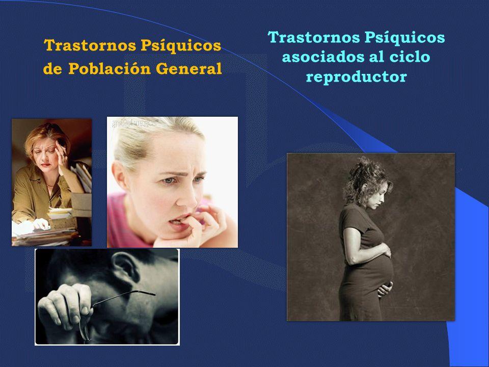 Trastornos Psíquicos asociados al ciclo reproductor