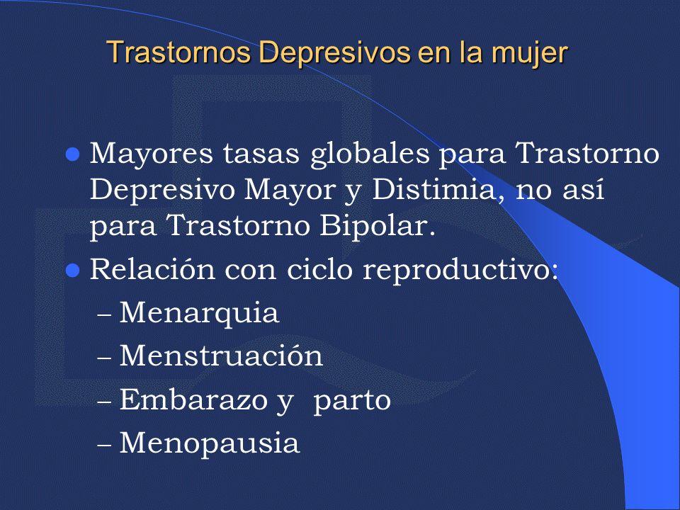 Trastornos Depresivos en la mujer