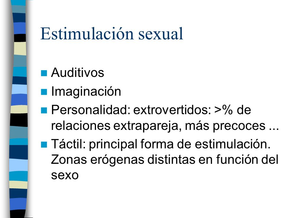Estimulación sexual Auditivos Imaginación