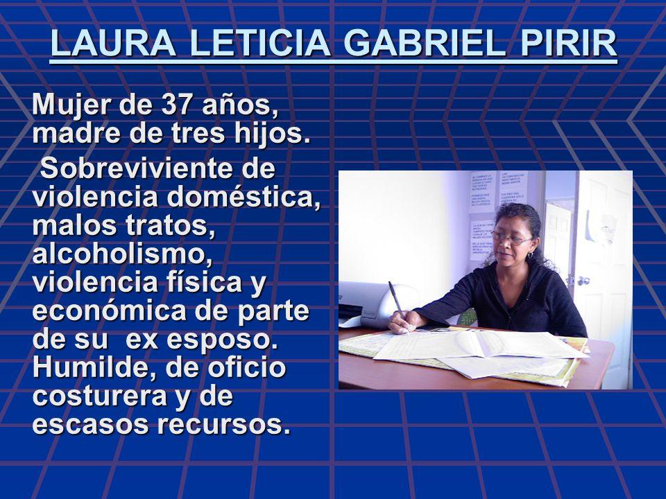 LAURA LETICIA GABRIEL PIRIR