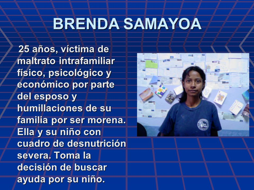 BRENDA SAMAYOA