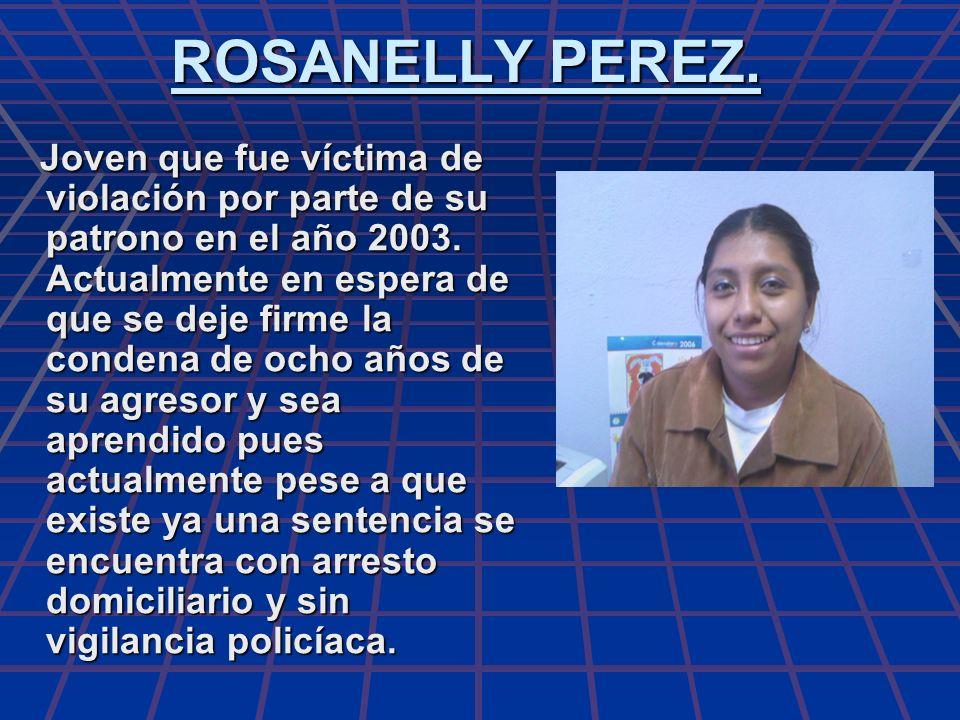 ROSANELLY PEREZ.
