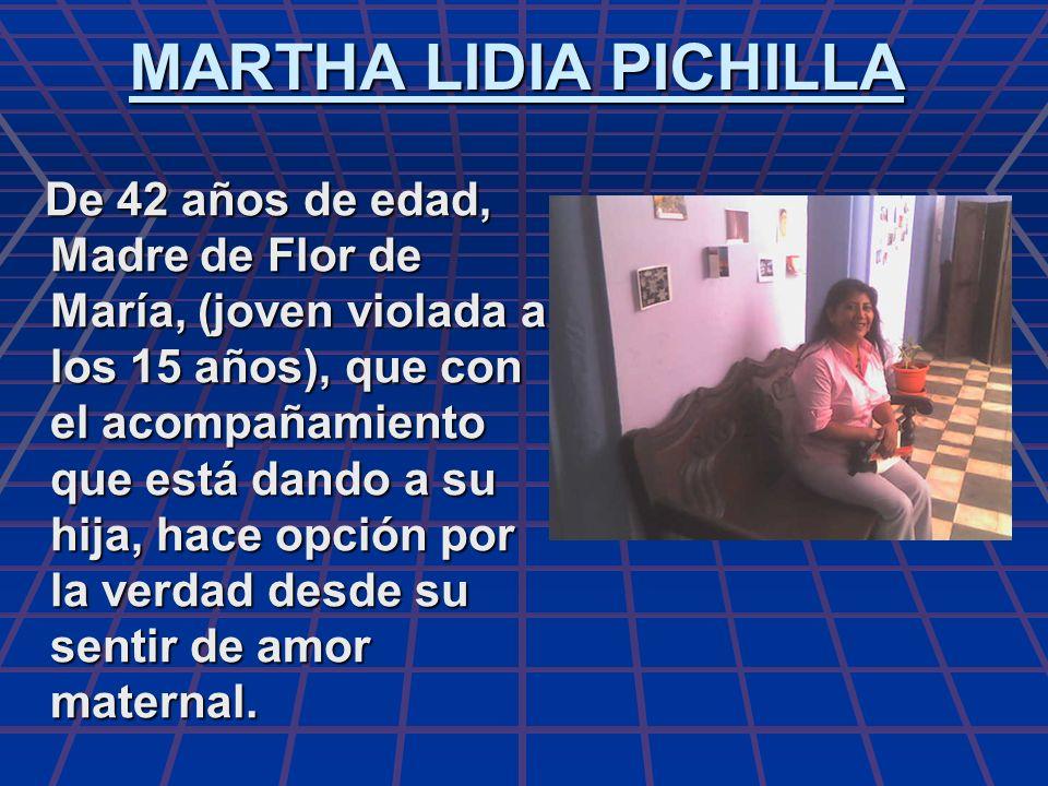 MARTHA LIDIA PICHILLA
