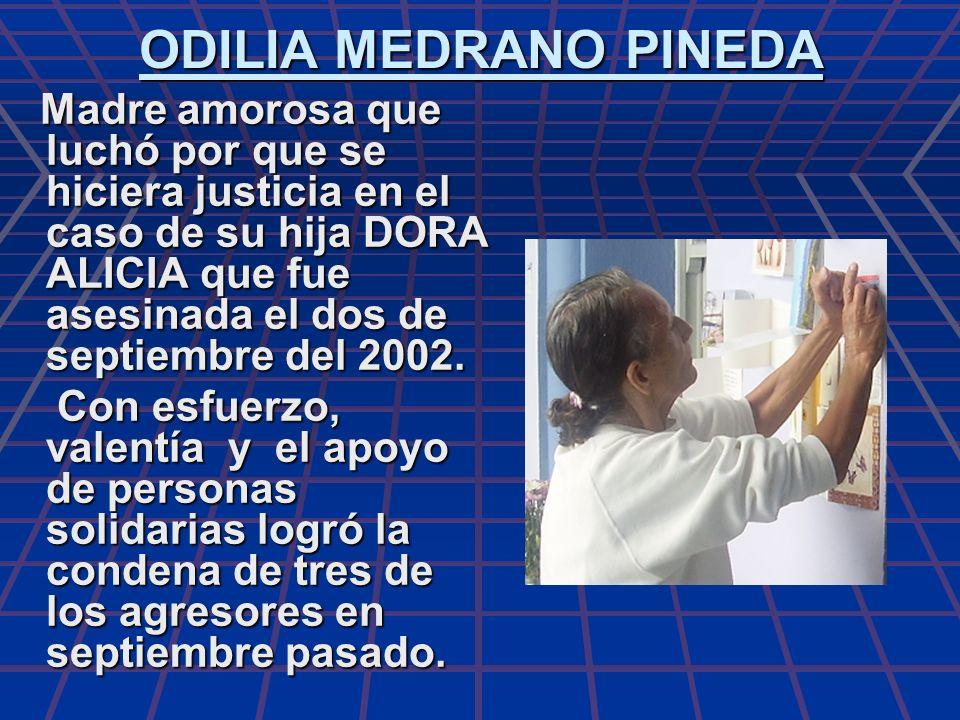 ODILIA MEDRANO PINEDA