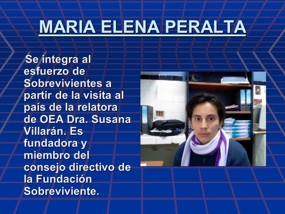 MARIA ELENA PERALTA