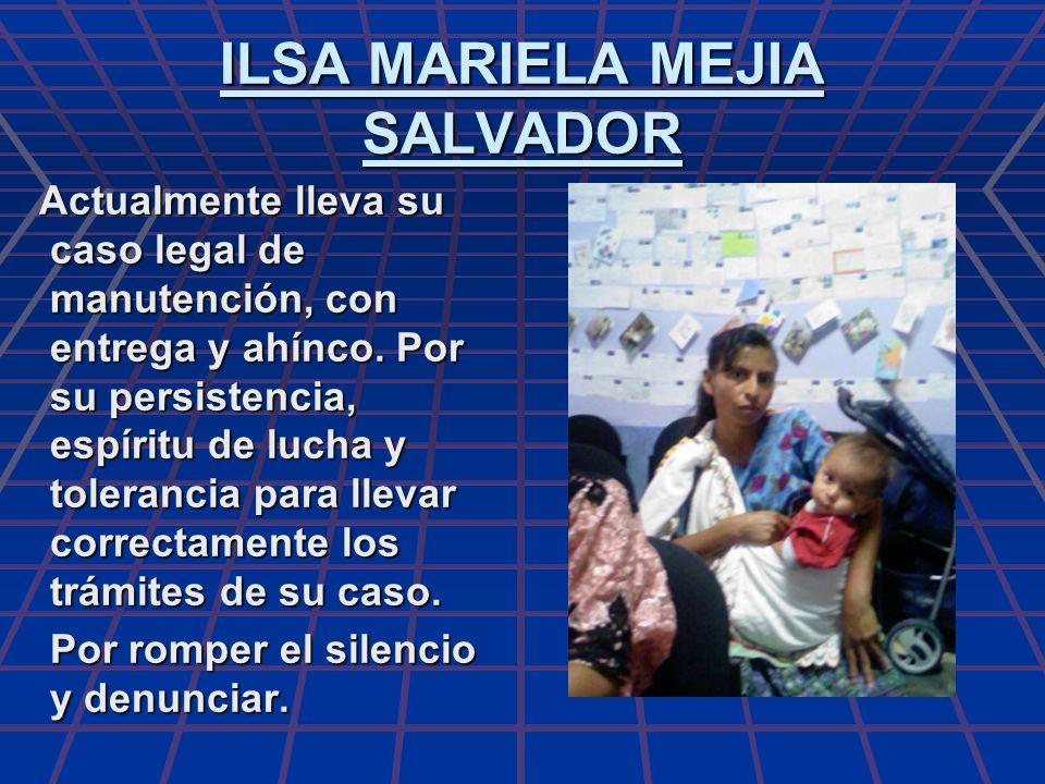 ILSA MARIELA MEJIA SALVADOR