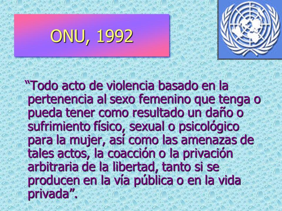 ONU, 1992