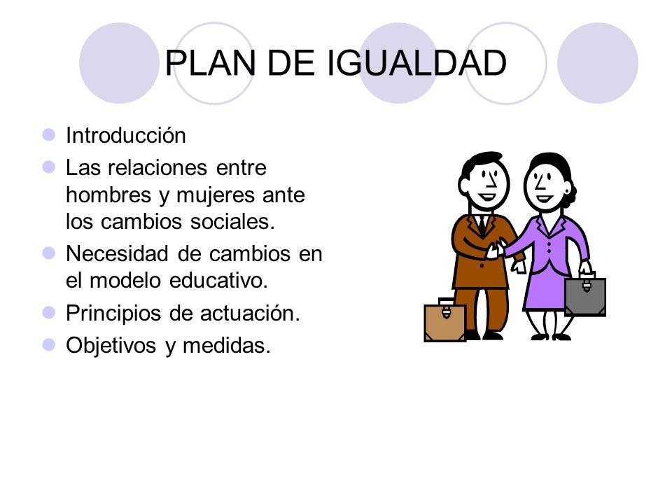 PLAN DE IGUALDAD Introducción