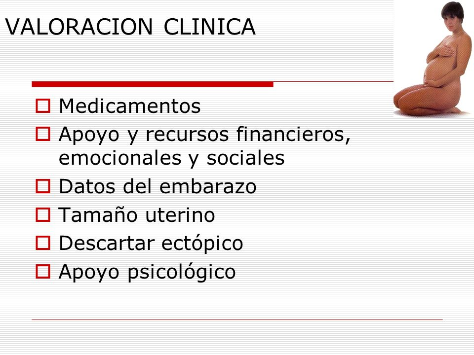 VALORACION CLINICA Medicamentos