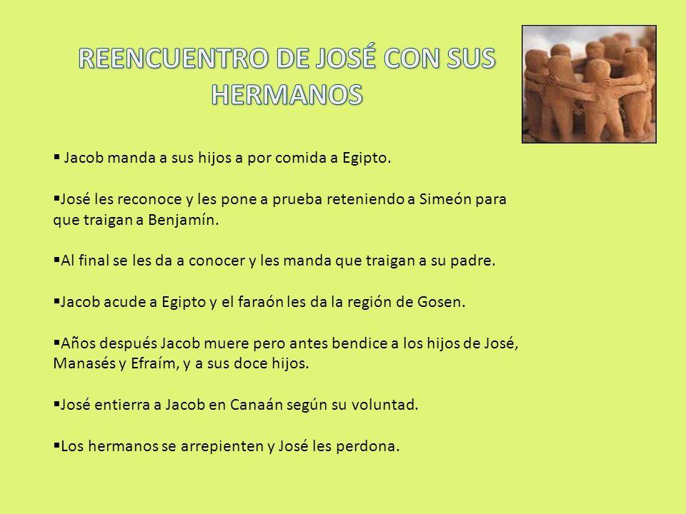 REENCUENTRO DE JOSÉ CON SUS HERMANOS
