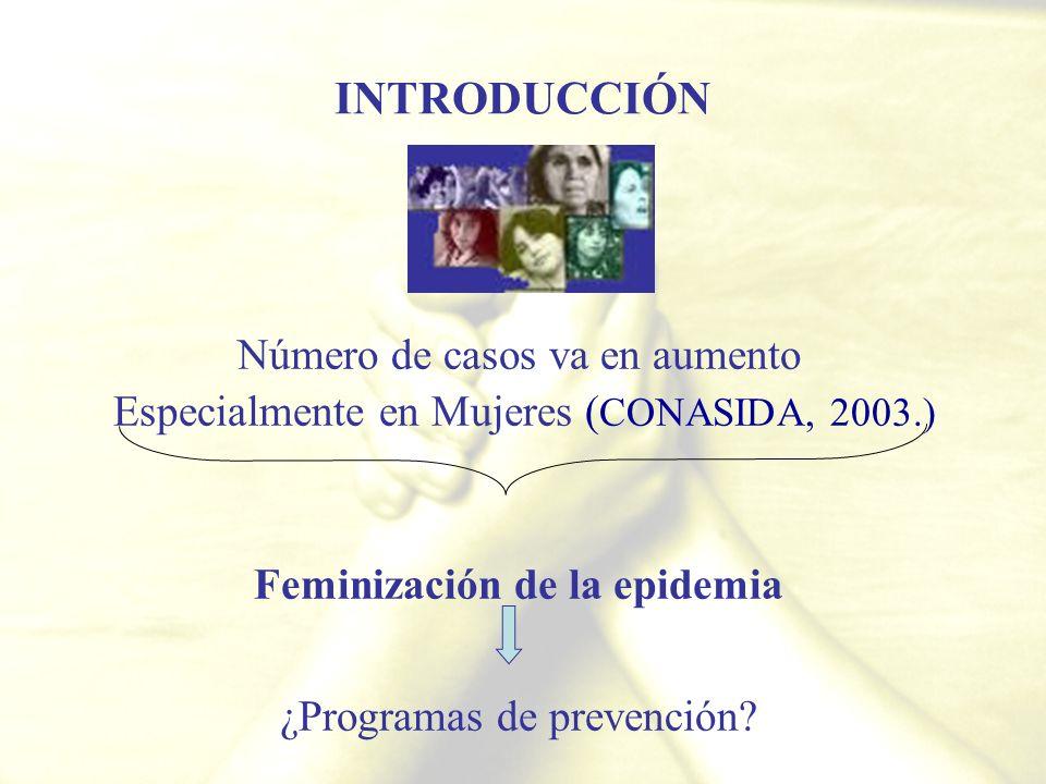 Feminización de la epidemia
