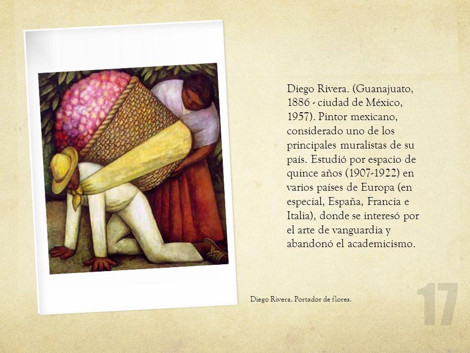 Diego Rivera. (Guanajuato, 1886 - ciudad de México, 1957)