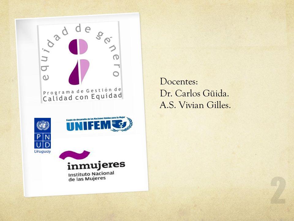 Docentes: Dr. Carlos Güida. A.S. Vivian Gilles.