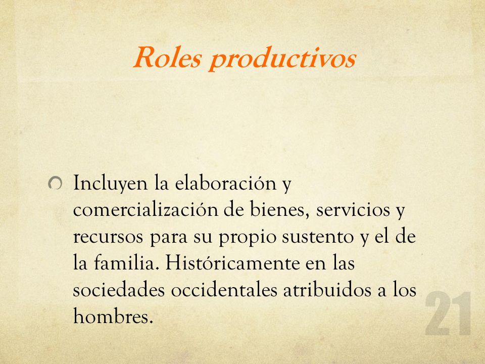 Roles productivos