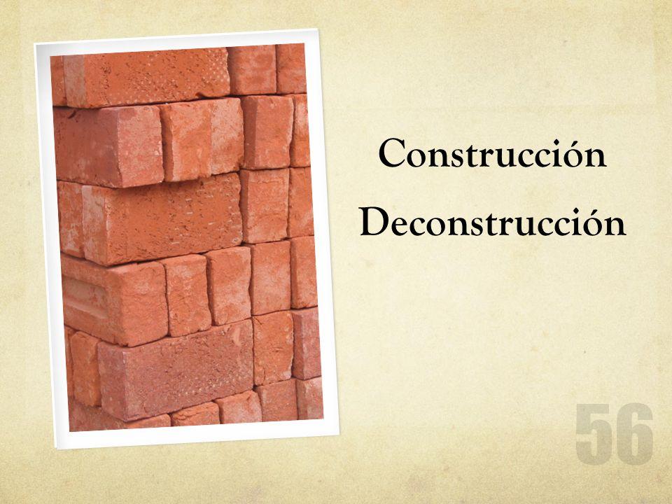 Construcción Deconstrucción