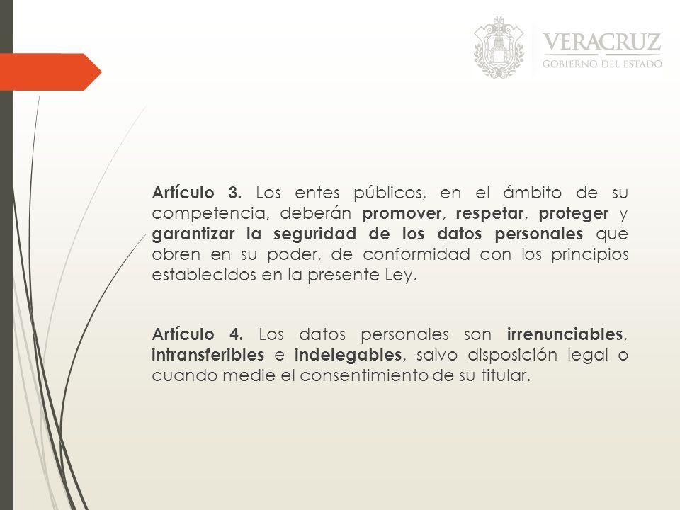 Artículo 3.