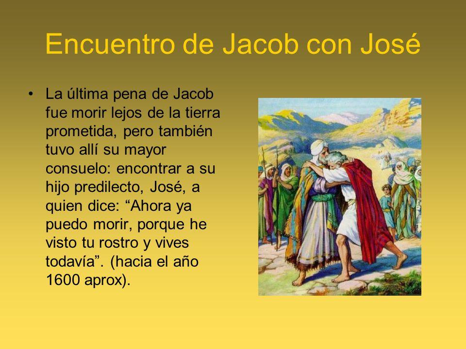 Encuentro de Jacob con José
