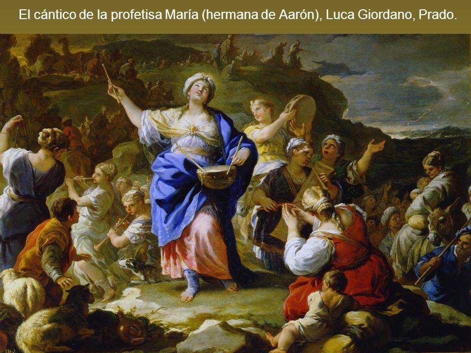 El cántico de la profetisa María (hermana de Aarón), Luca Giordano, Prado.
