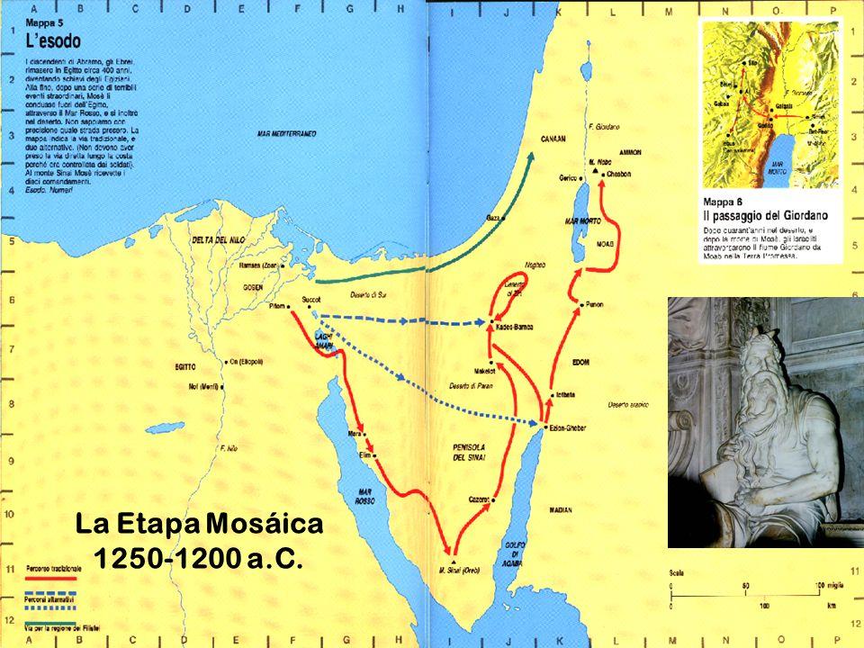 La Etapa Mosáica 1250-1200 a.C.