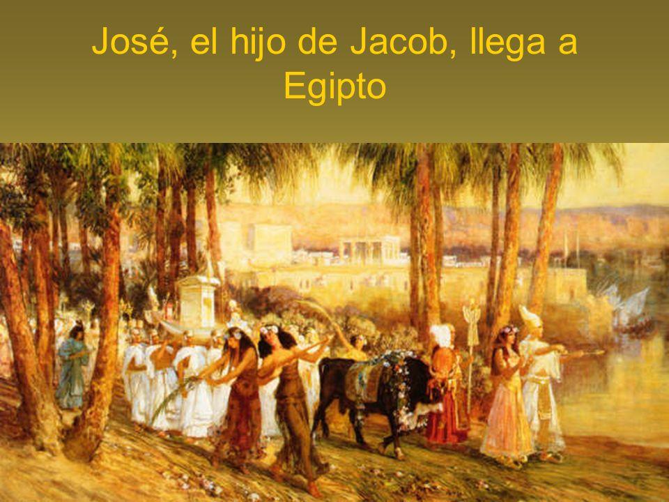 José, el hijo de Jacob, llega a Egipto