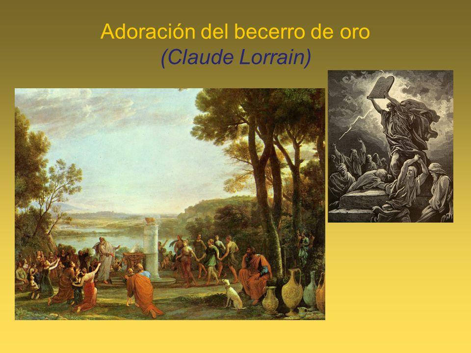 Adoración del becerro de oro (Claude Lorrain)