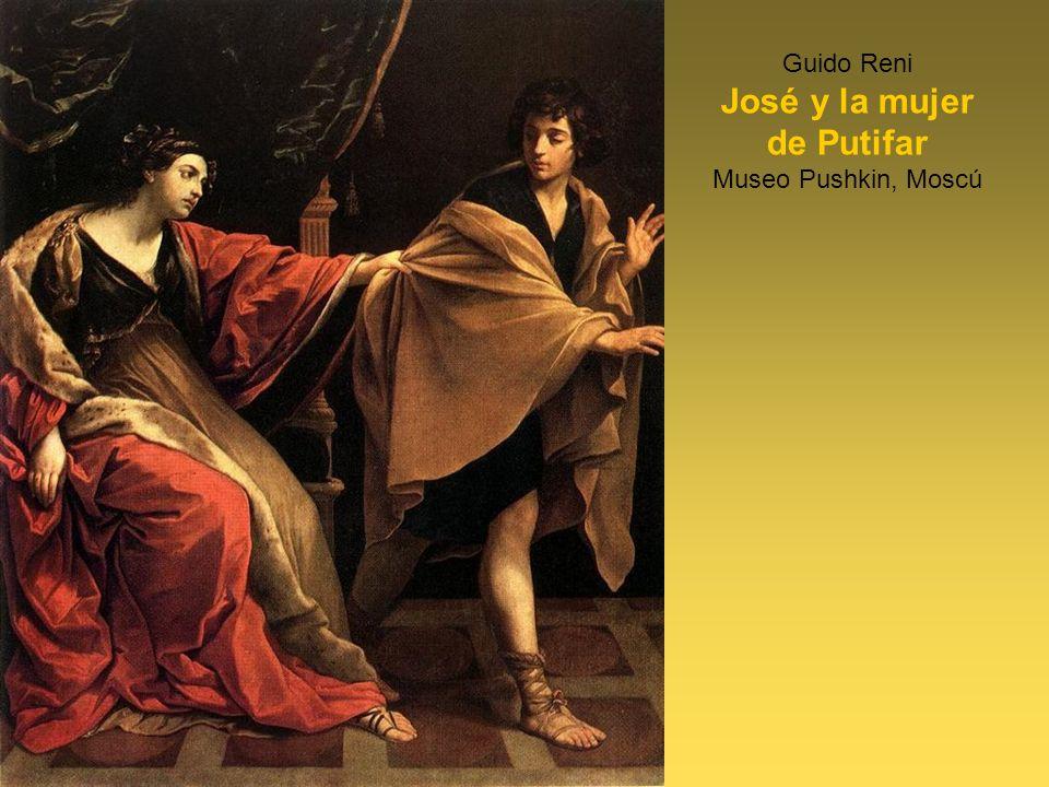 Guido Reni José y la mujer de Putifar Museo Pushkin, Moscú