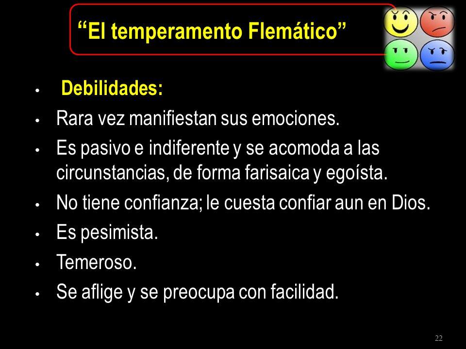 El temperamento Flemático