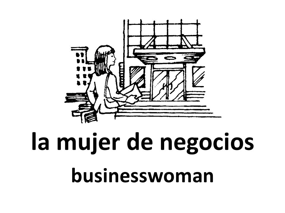la mujer de negocios businesswoman