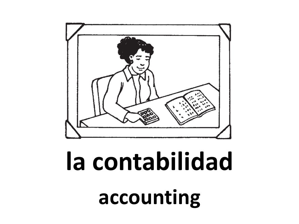 la contabilidad accounting